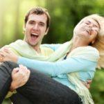 Eine Frau Einfach Zum Lachen Bringen