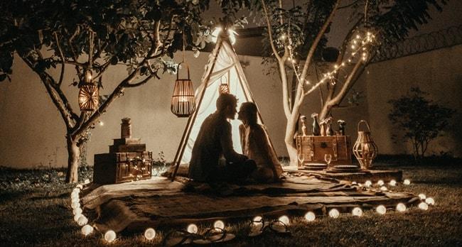 romantischer abend ideen